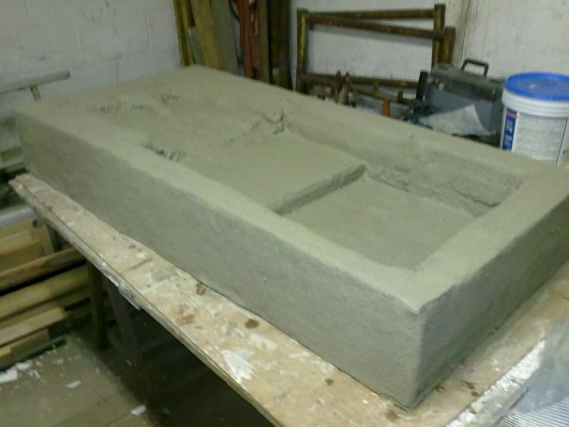 Terrarium MDF avec décor roches + 2-3 autres réalisations en cours 02410