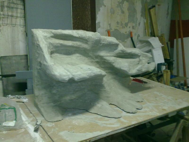 Terrarium MDF avec décor roches + 2-3 autres réalisations en cours 09092010