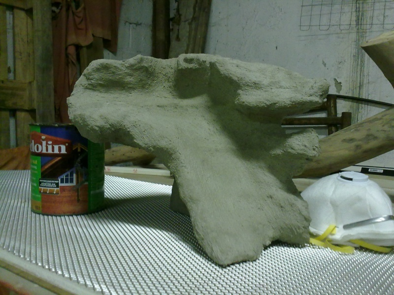 Terrarium MDF avec décor roches + 2-3 autres réalisations en cours 09092012