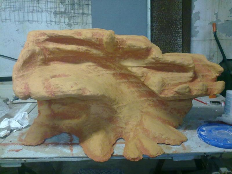 Terrarium MDF avec décor roches + 2-3 autres réalisations en cours 14092011