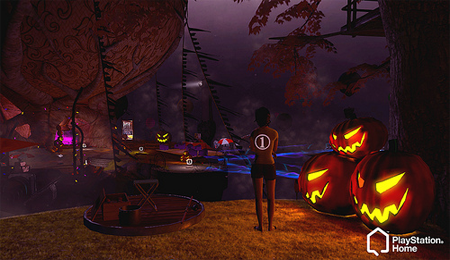 Llega Halloween a PlayStation Home Home10