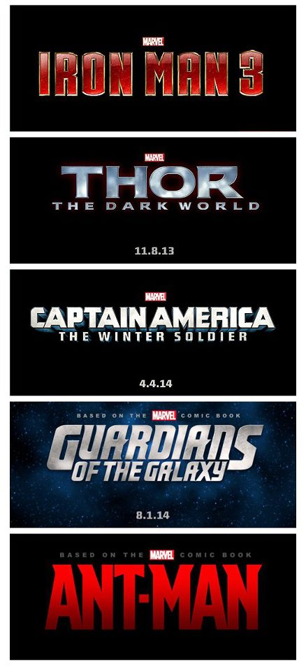 New Marvel movies coming out in the next few years  55225810