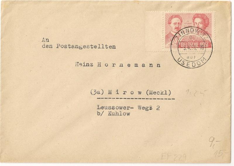 Mecklenburg - Vorpommern (OPD Schwerin) -Sowjetische Besatzungszone - Seite 3 1950-010