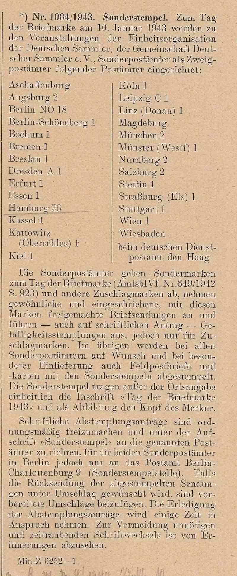 Deutsche Reichspost 1943 Scan1118