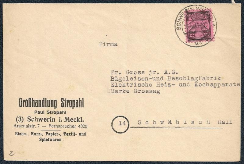 OPD Schwerin 1945 - 1952 - Seite 2 Scann172