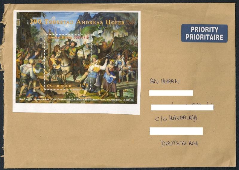 Sammlung Bedarfsbriefe Österreich ab 1945 - Seite 4 Scann489