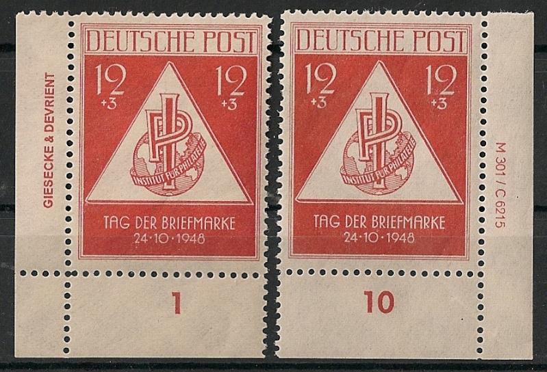 Allgemeine Ausgaben der Sowjetischen Besatzungszone Scann574