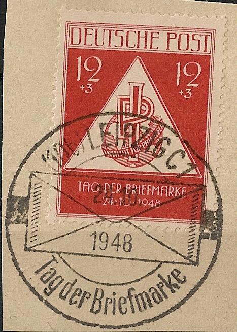 Allgemeine Ausgaben der Sowjetischen Besatzungszone Scann575
