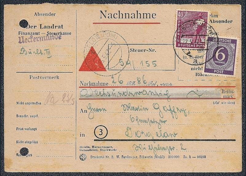 OPD Schwerin 1945 - 1952 - Seite 11 Scann619