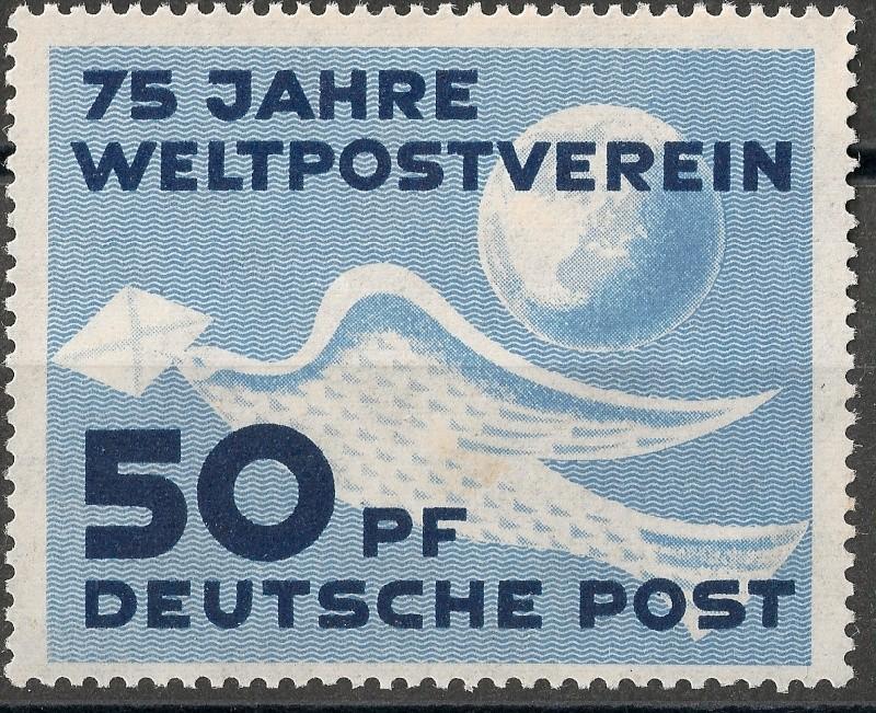 DDR - Briefmarkenausgaben 1949  Scann712