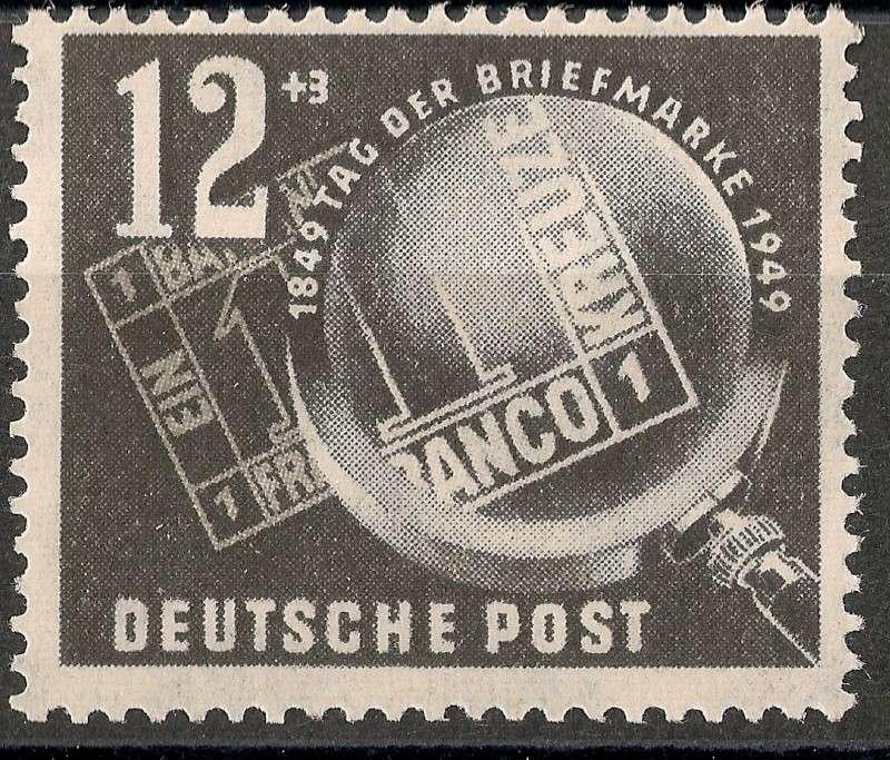 DDR - Briefmarkenausgaben 1949  Scann714