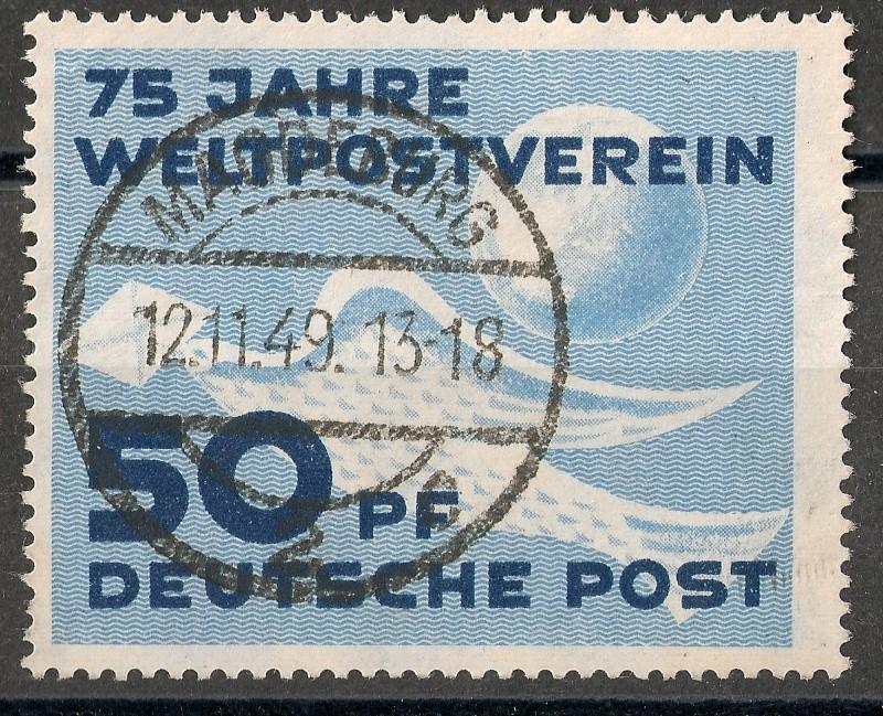 DDR - Briefmarkenausgaben 1949  Scann716