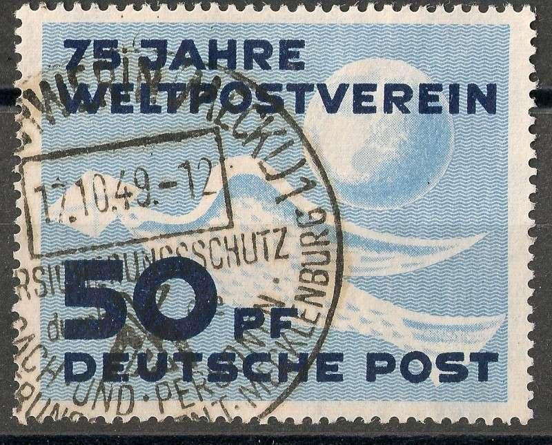 DDR - Briefmarkenausgaben 1949  Scann717