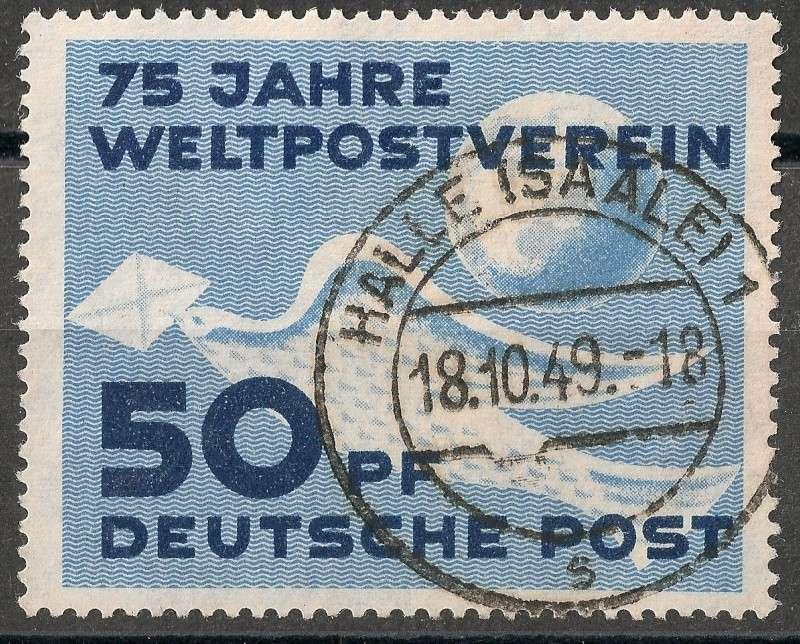 DDR - Briefmarkenausgaben 1949  Scann718