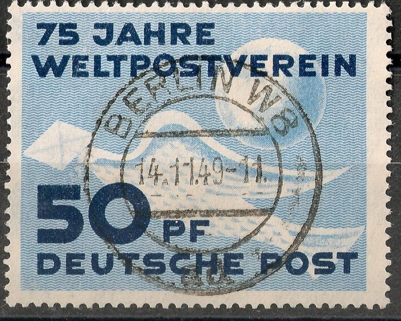 DDR - Briefmarkenausgaben 1949  Scann719