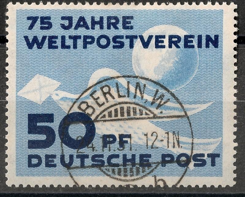 DDR - Briefmarkenausgaben 1949  Scann720
