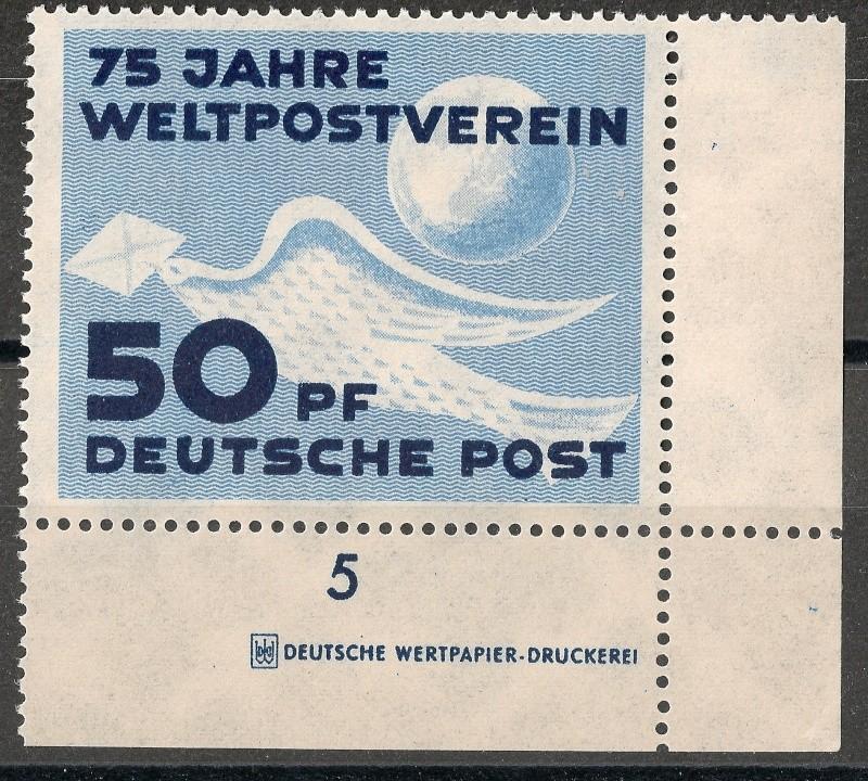 DDR - Briefmarkenausgaben 1949  Scann722