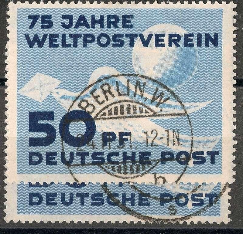 DDR - Briefmarkenausgaben 1949  Scann723