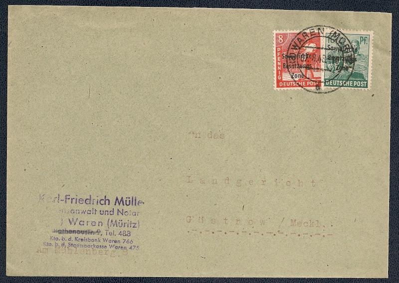 OPD Schwerin 1945 - 1952 - Seite 13 Scann738