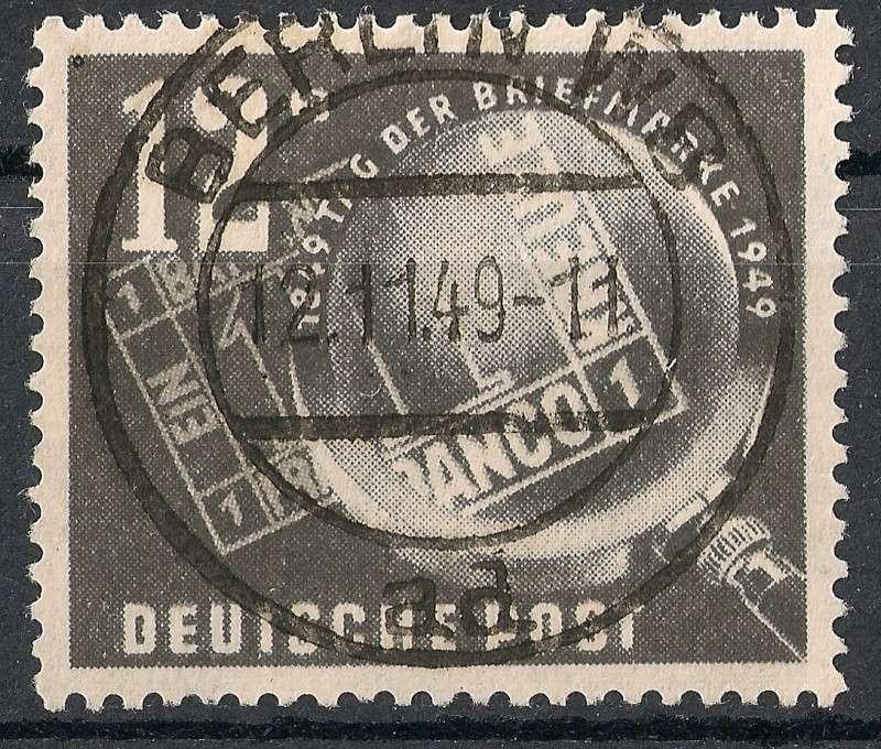 DDR - Briefmarkenausgaben 1949  Scann753