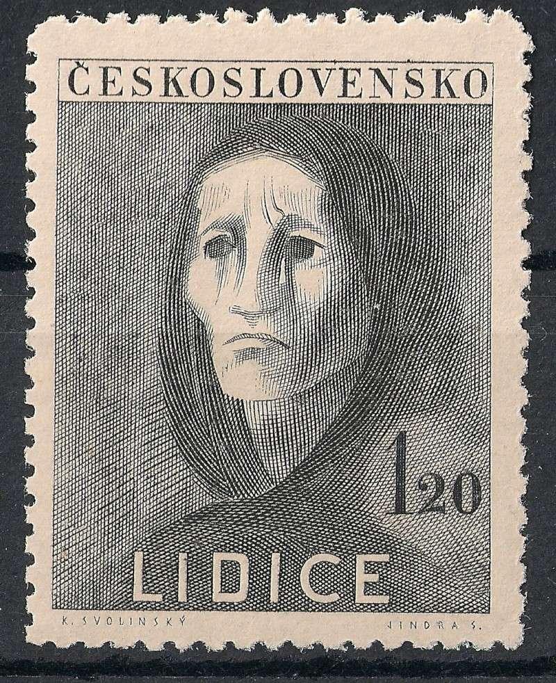 Tschechoslowakei - Briefmarkenausgaben 1947 Scann760