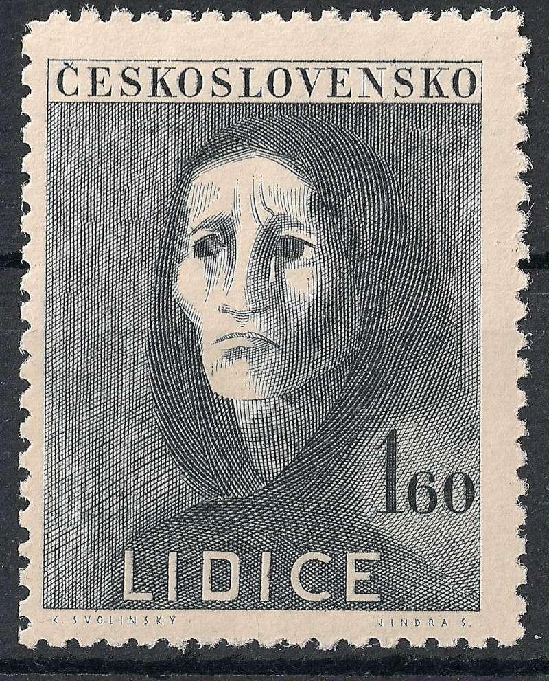 Tschechoslowakei - Briefmarkenausgaben 1947 Scann761