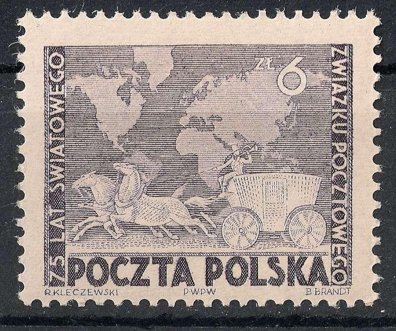Zone - 75 Jahre Weltpostverein Scann777