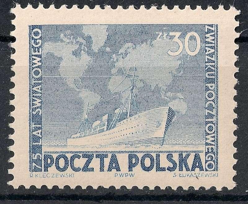 75 Jahre Weltpostverein Scann778