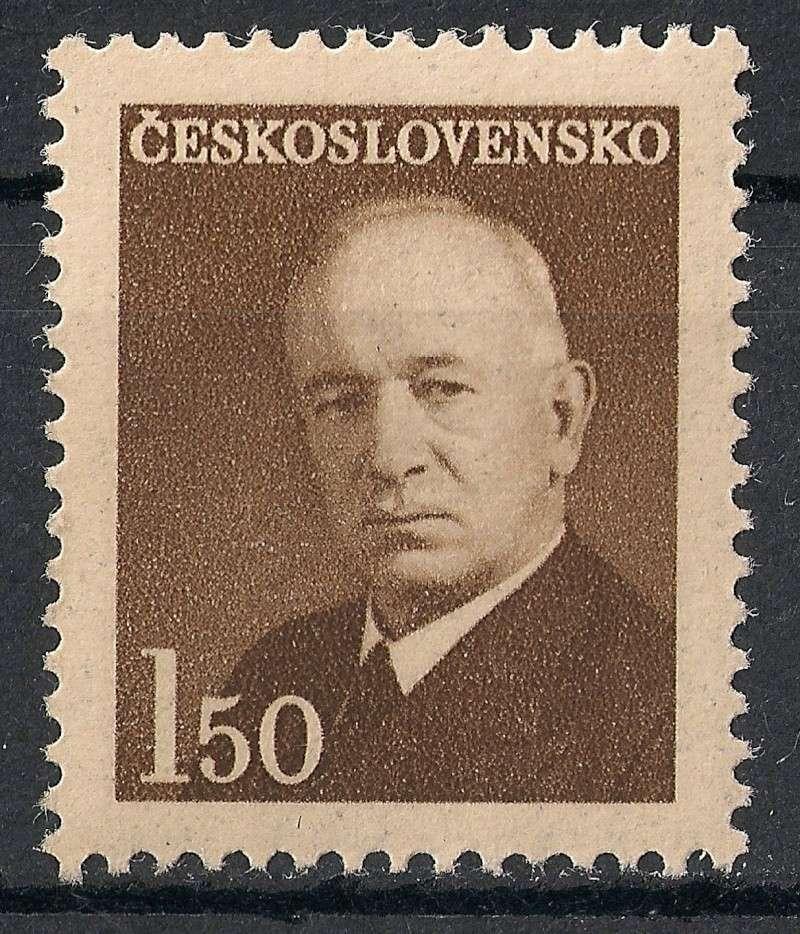 Tschechoslowakei - Briefmarkenausgaben 1948 Scann826