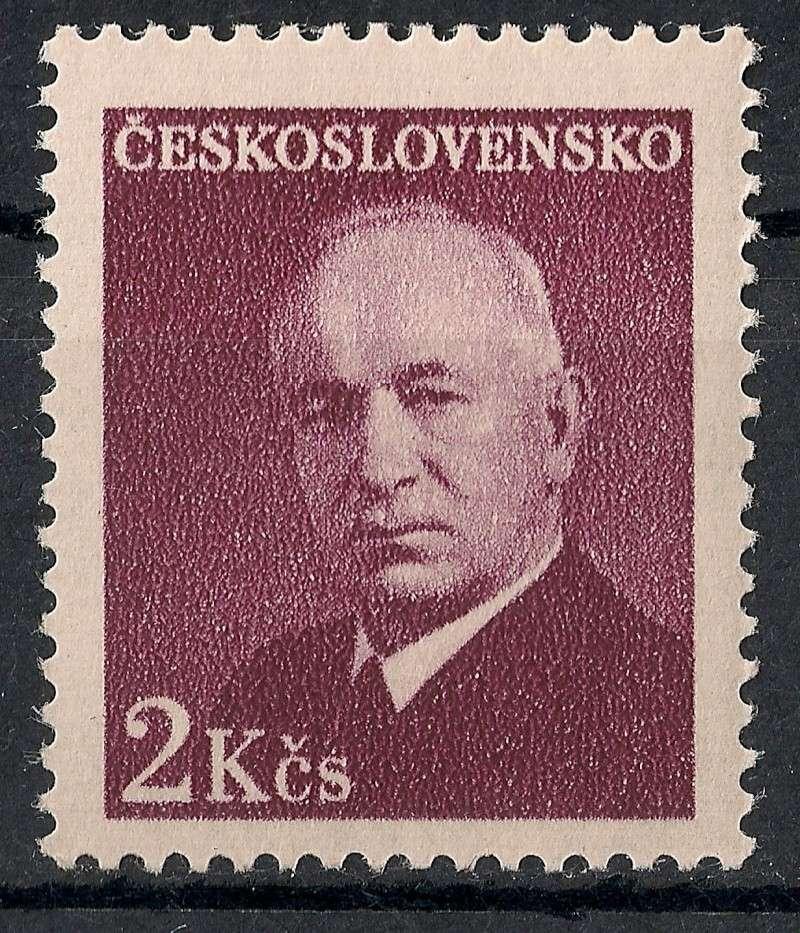 Tschechoslowakei - Briefmarkenausgaben 1948 Scann827