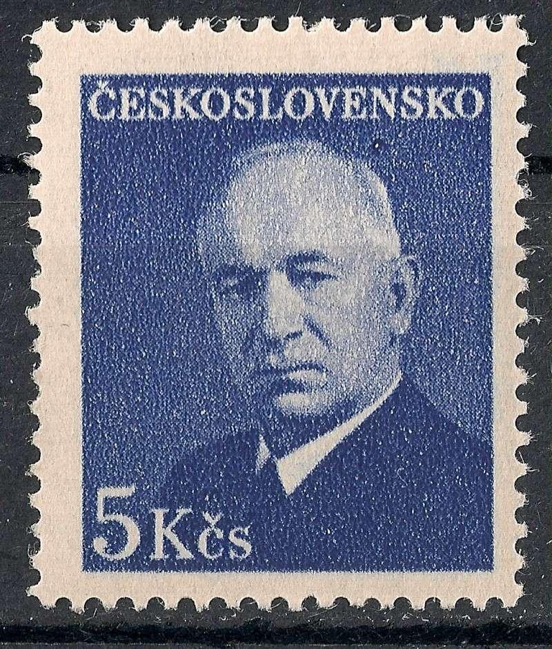 Tschechoslowakei - Briefmarkenausgaben 1948 Scann828