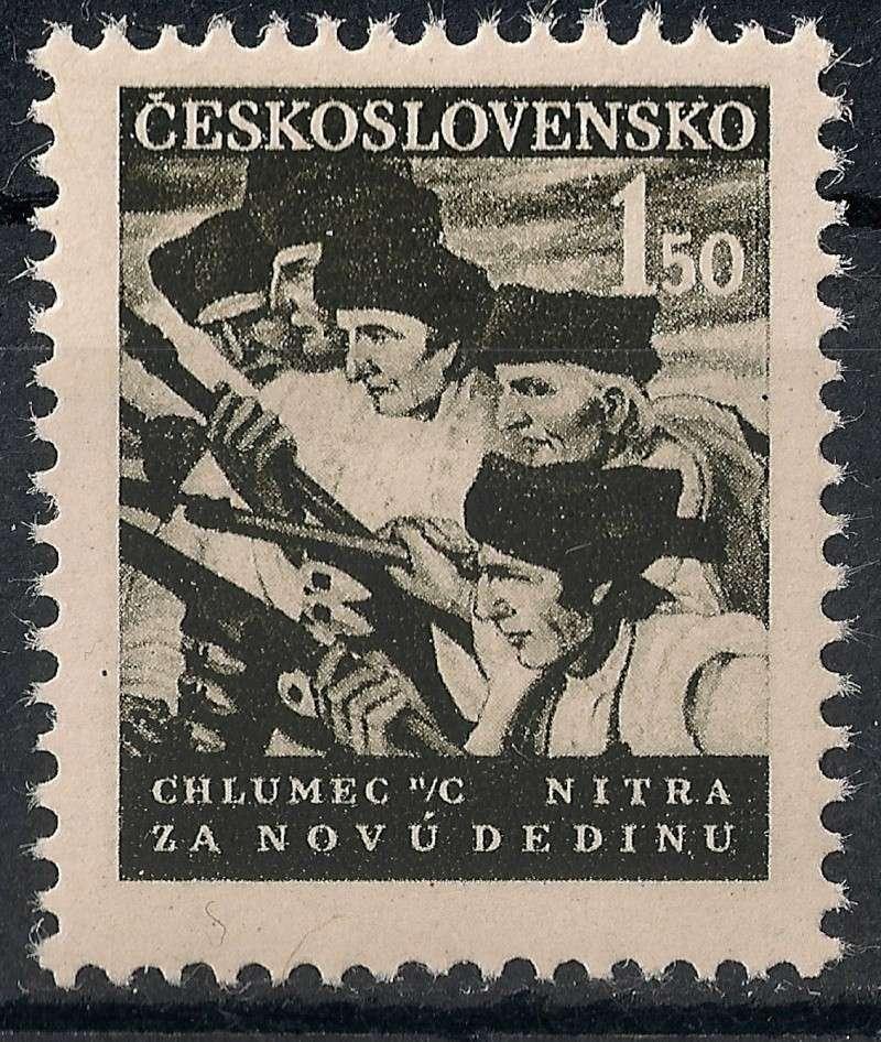 Tschechoslowakei - Briefmarkenausgaben 1948 Scann836