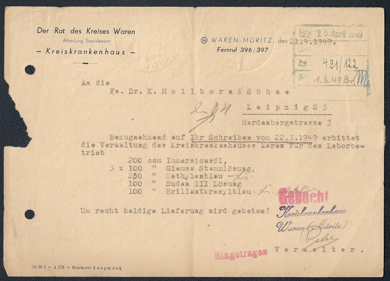 OPD Schwerin 1945 - 1952 - Seite 15 Scann923