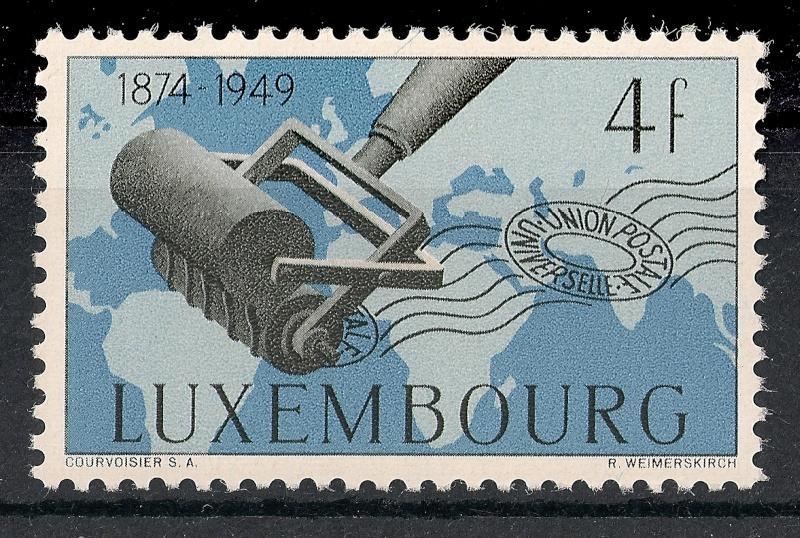 Zone - 75 Jahre Weltpostverein Scann966