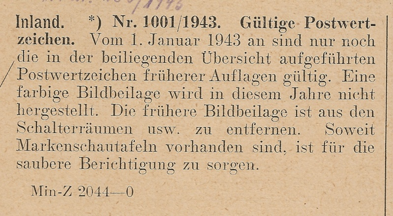Deutsche Reichspost 1943 Scann989
