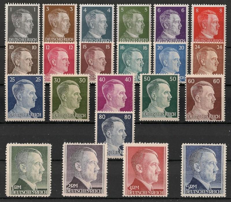 Deutsche Reichspost 1943 Scann992