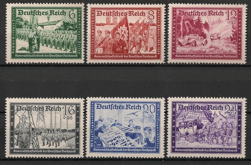 Deutsche Reichspost 1943 Scann994