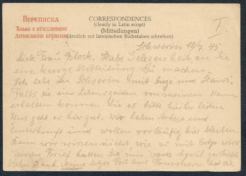 OPD Schwerin 1945 - 1952 Scanne81