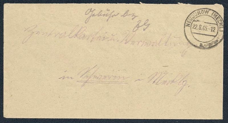 OPD Schwerin 1945 - 1952 Scanne85