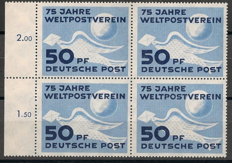 DDR - Briefmarkenausgaben 1949  Taube410