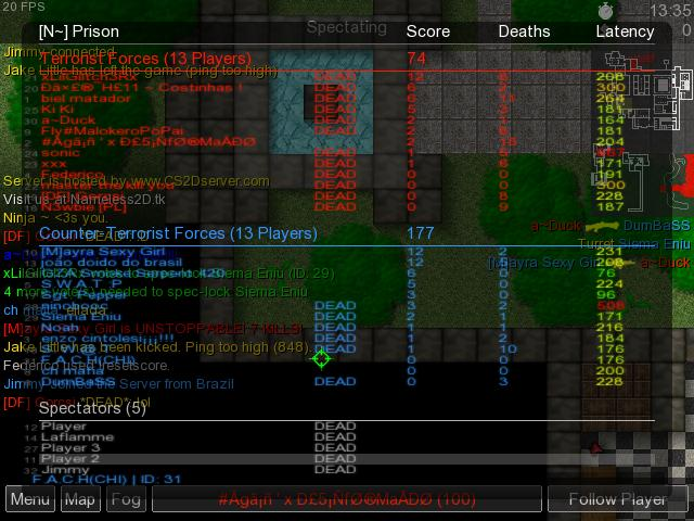 many players Prison13