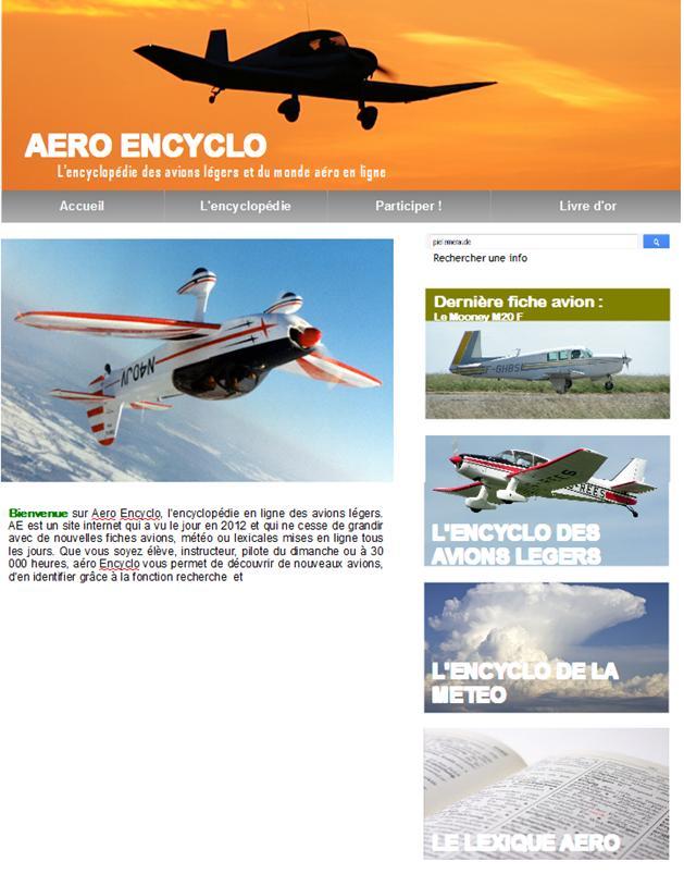 Projet de site internet encyclopédie Accuei10