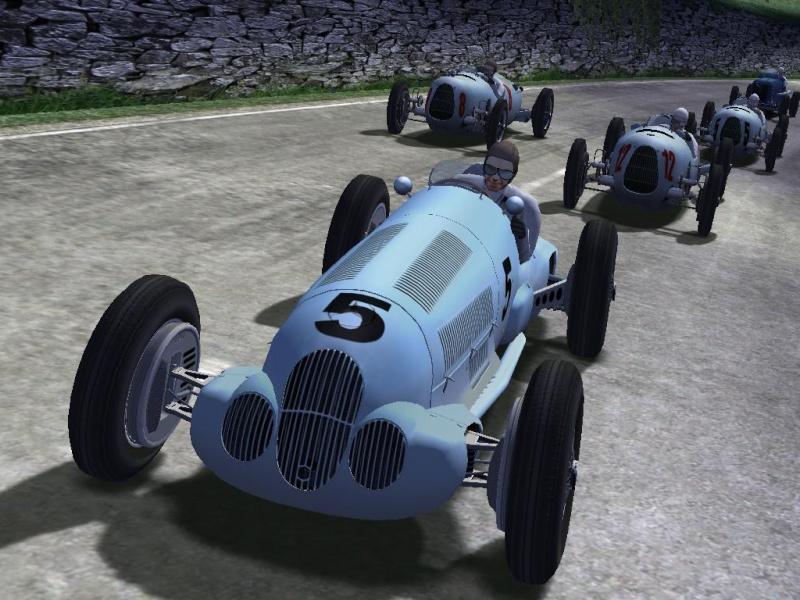 screenshots  Benz-w12