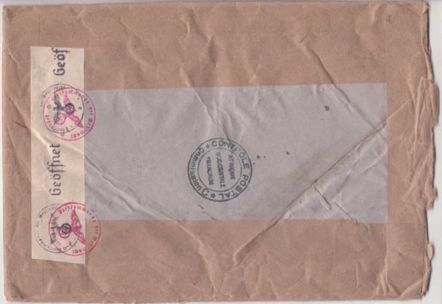 Lettre de Conakry affranchie à 257f.50 pour le CICR. _10d_810
