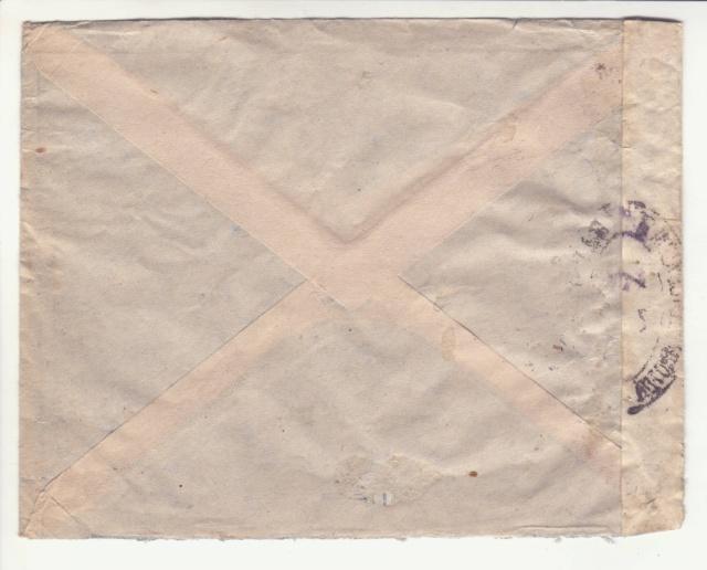 Guinée; bande de fermeture de la 1°période utilisée en décembre 1941 !! _2d00110