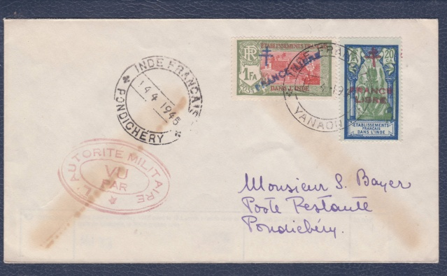 Les bureaux postaux de Pondichéry  _aa_710