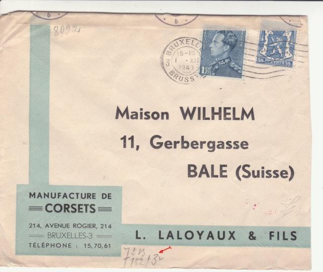 """Les marques des censeurs """"lecteurs"""" des centres de contrôle allemands : b Berlin _b210"""