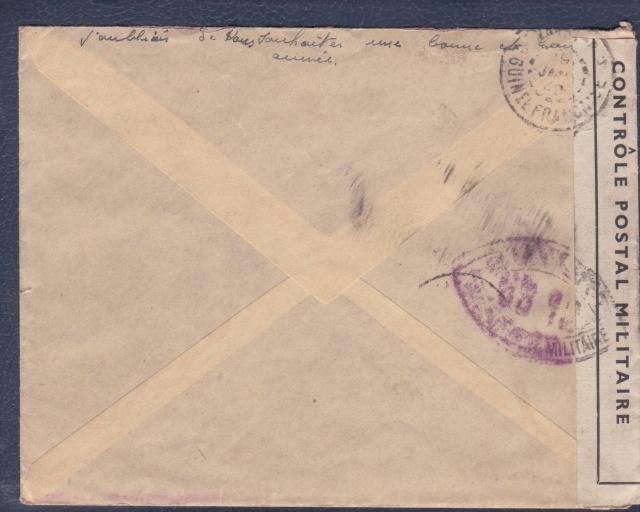 Lettre de la Martinique avec obl. linéaire Poste Navale Bureau Central. _b_00012