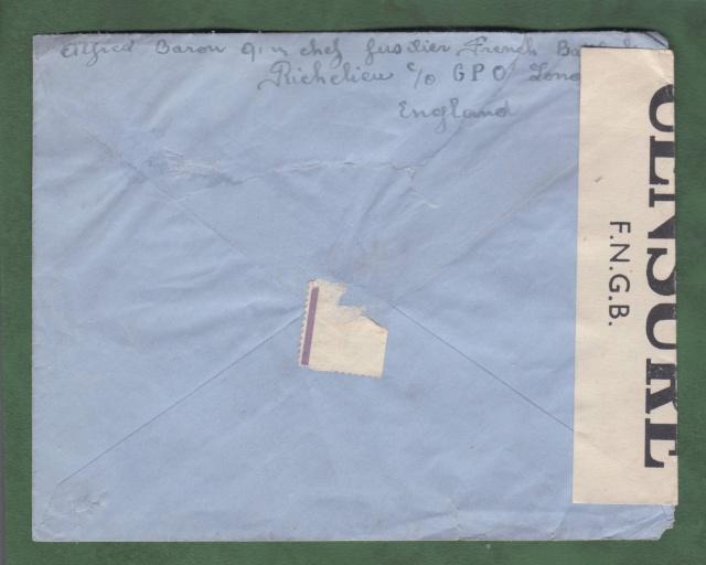 """Le Batiment de ligne """" Richelieu """" incorporé dans la Royal Navy _ri_1a10"""