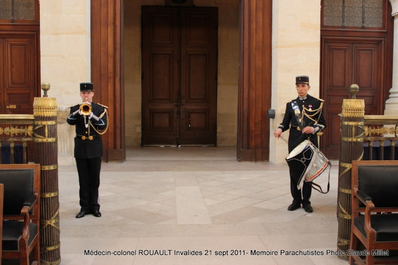 ROUAULT Pierre Médecin-colonel - 5e BPV-8e BPC - 21 septembre 2011 - Invalides cérémonie religieuse Img_0111